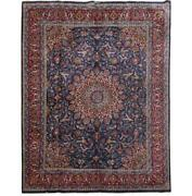 10x13 Authentic Hand-knotted Signed Kashmar Rug B-81126