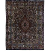 10x16 Authentic Hand-knotted Signed Kashmar Rug B-82330