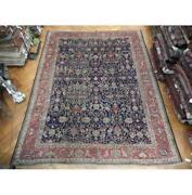 11x14 Hand Knotted Semi-antique Mahal Rug Pix-23584