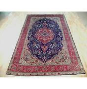 7x11 Authentic Hand Knotted Semi-antique Rug B-72068