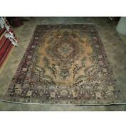 8x11 Hand Knotted Semi-antique Lilihan Rug B-73798