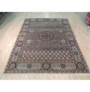 8x10 Authentic Hand Knotted Semi-antique Rug B-71984