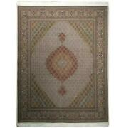7x8 Authentic Handmade Wool And Silk High End Rug Pix-19992