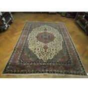 7x11 Authentic Hand Knotted Semi-antique Rug Pix-23683