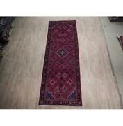 4x11 Hand Knotted Semi-antique Josheghan Rug B-74505