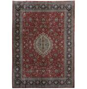 9x13 Authentic Hand-knotted Oriental Rug B-81820