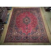 10x12 Authentic Hand Knotted Semi-antique Rug B-74855