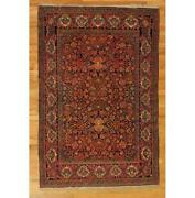 Pristine 5x7 Hand-knotted Semi-antique High End Rug Pix-29078