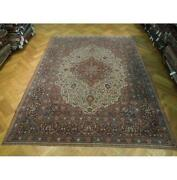 9x12 Authentic Hand Knotted Antique Rug Pix-25686