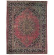 Fascinating 10x12 Authentic Hand Knotted Antique Rug B-71121