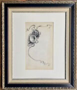 Colin Campbell Cooper Na Listed French Horn Pen And Ink National Academy Member