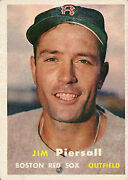 1957 Topps Bb Cards 1-100 Most Stock Photos A6698 - You Pick - 10+ Free Ship