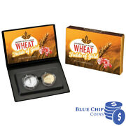 2012 Australian Wheat Fields Of Gold Two Coin Proof Set