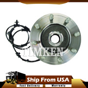 2pcs Timken Wheel Bearing And Hub Assembly Front Pair For Ram 2500 3500 4wd