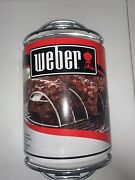 Weber Plated 6605 Original Rib Rack For Grilling Holds 5 Ribs, New-free Shipping