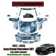 Xpel Ultimate Plus Precut Paint Protection Kit For Jeep Grand Cherokee 2017-2020