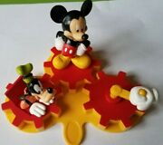 Mickey Mouse Clubhouse Cake Topper 4 Piece Set With Moving Parts
