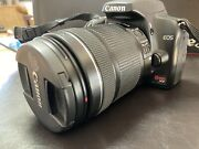 Canon Eos Rebel Xs Black Ef-s 18-135mm Is Lens
