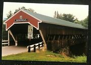Lot Of 150 Vintage Covered Bridge Photos From New Hampshire Nh - Rare Collection