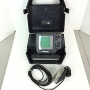 Humminbird Wide One Hundred 100 Portable Fish Finder With Case And Transducer