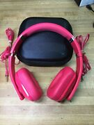 Nokia Wh-930 Magenta Purity Hd Wired On-ear Stereo Headset By Monster Headphones