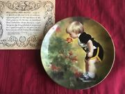 Donald Zolan Complete Set Wonder Of Childhood 6 Collection Plates