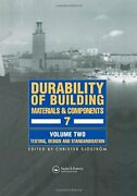 Durability Of Building Materials And Components Sjostrom..