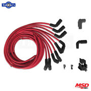 Msd Super Conductor Spark Plug Wire Set W/90deg.boots Fits Chevy Gm Lt1 Engines