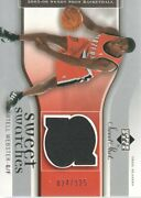 2005-06 Sweet Shot Sweet Swatches We Martell Webster Jersey /125