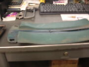 1970 71 72 Monte Carlo Seat Belt Covers On Rear Panels To Cover Belt Blue Driver
