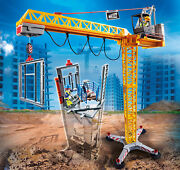 Playmobilandreg 70441 Rc Construction Crane With Component - New 2020 - Free Shipping