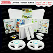 Nintendo Wii Console + Wii Fit And Board Choose A Bundle Sports Mario Kart Etc