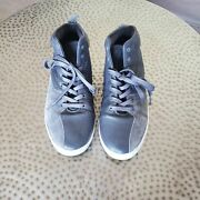 Gourmet Quattro Skate Shoes Leather Gray High Top