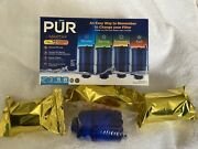Pur Max Ion Mineral Clear Water Filter Faucet Model Rf-9999 4 Pack 1 Open