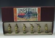 Imperial 1914 Maori Contingent New Zealand Lead Toy Soldier Royal Figure Set 5