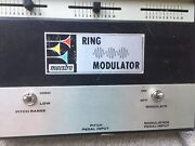 Maestro Vintage Ring Modulator With Contrl Pedal