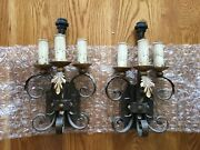 Fine Arts Lamps Iron Candelabra Sconce / Wall Light