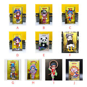 Magnetic Refrigerator Sticker Tags Magnet Chinese Traditional Peking Opera Masks