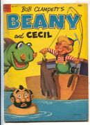 Bob Clampett's Beany And Cecil-four Color Comics 477-dell-based On Tv Series-vg