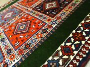 C 1970 Vintage Semi Antique Exquisite Hand Made Rug 3and039 4 X 4and039 9 2949