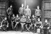 Crt-88 Military Staffordshire Yeomanry Officers. Photo