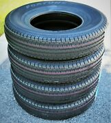 4 New Fortune St01 St 205/75r14 Load D 8 Ply Trailer Tires