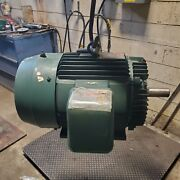 New Reliance 30 Hp Electric Motor 230/460 Vac 1770 Rpm 3 Phase 286t Frame