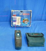 Bosch Gcl25s Self-leveling 5-point Alignment Laser With Cross W/ Case