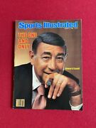 1983, Howard Cosell, Sports Illustrated Magazine No Label Scarce / Vintage