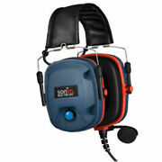 Sonim Nh-is Ptt Over-the Head Hearing Protection Headset Black Hpw0000q