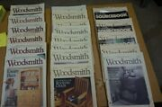 Woodsmith Magazine, Lot Of 25 Various Issues, Roughly 76-101, Good Condition