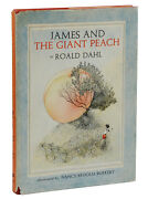 James And The Giant Peach By Roald Dahl First Edition 1961 1st Print Burkert