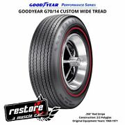 Kelsey Tire Inc. Goodyear G70/14 Wt Rd Strp Polyglas Perf. Series Tires And03968 -and03969