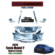 Xpel Ultimate Plus Precut Paint Protection Kit For Tesla Model Y 2020-2021 Xpel